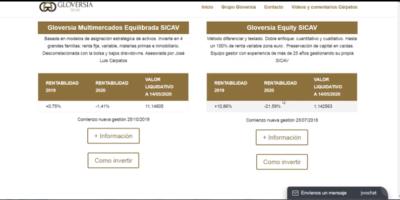 Situación al 17-5-2020 de la Sicav Gloversia Multimercados Equilibrada por Cárpatos
